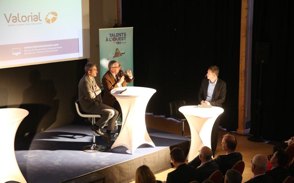 Le débat des experts à Cheverny à l'occasion des premières Rencontres Talents à l'Ouest