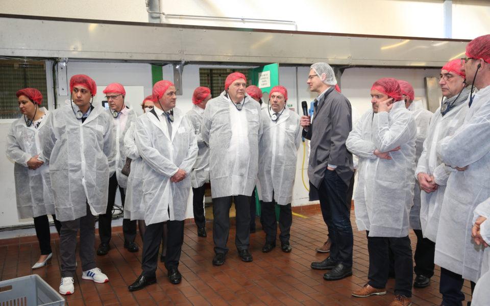 Visite de l'usine Reitzel à Contres (41) à l'occasion des premières Rencontres Talents à l'Ouest