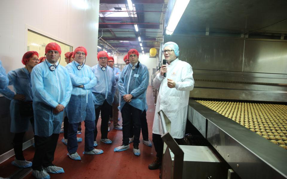 Visite de l'usine Saint Michel à Contres (41)
