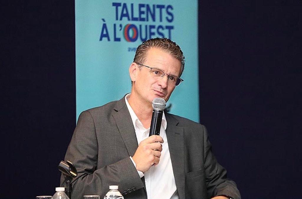 Laurent Métral, Directeur Général de CIC Ouest, à Lorient